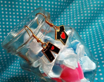 Nice pair of gold plated earring set