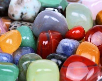 1 kg of tumbled stones Reiki mix