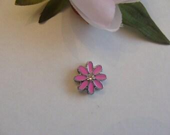 Bead width 1 cm diameter pink flower petals