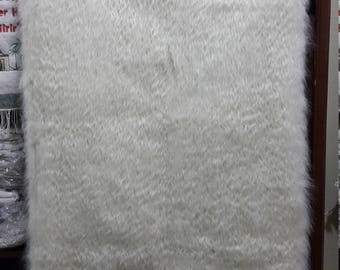 handmade angora wall hanging, blanket
