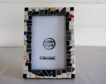 """MONDRIAN Touch"" mosaic picture frame"