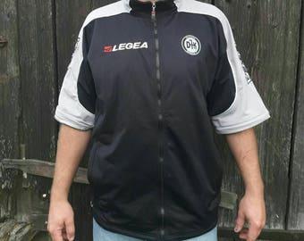 Technical sports wear LEGEA T-shirt with zipper
