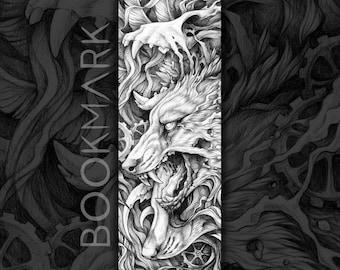 """Bookmark of """"Canis Lupus Vanitas"""""""