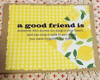 Set of 3 friendship cards