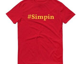 Simpin T-Shirt Hashtag