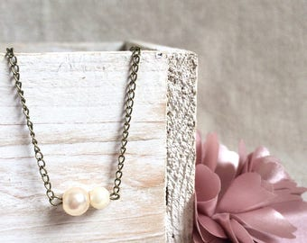 Bracelet chain and Pearl bead
