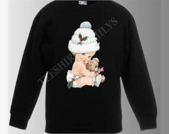 printed BABY girl Sweatshirt