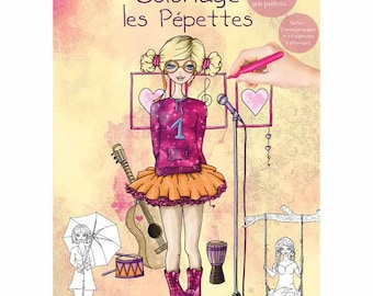 Coloring book 21 x 29, 7-32 pages - Ppet