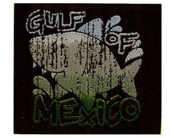 patch fusible shark Gulf of Mexico