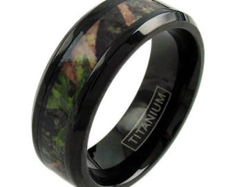 Shop for camo wedding rings on Etsy