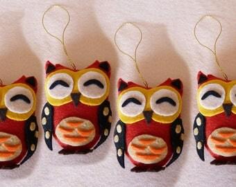 Set of OWL mascot
