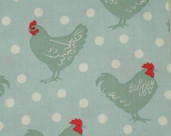 "Fabric Makower - ""Chicken and egg"" 01."