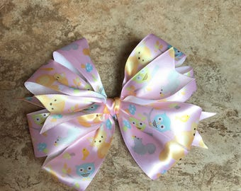 Stacked Woodland Hairbow