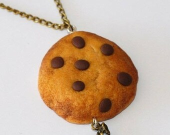 Delicious Cookie and rocking horse charm necklace