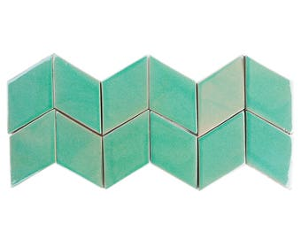 1sqm - Diamond Cube - Handmade Tiles