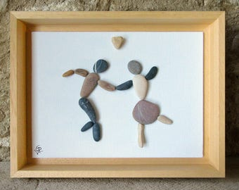 Great gift for lovers of dance - dancing in Pebble Couple