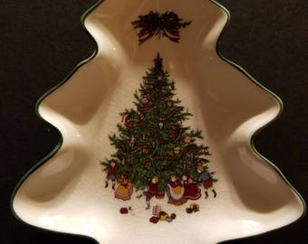 Decorative tree candy dish