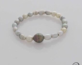 Keshis bracelet, pearls, MPT4167