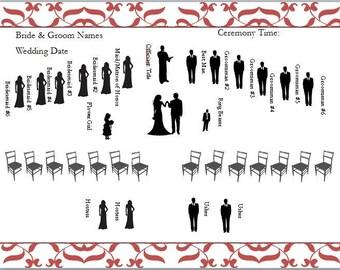 Wedding Ceremony Diagram