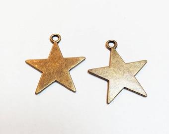 Bronze Star charm
