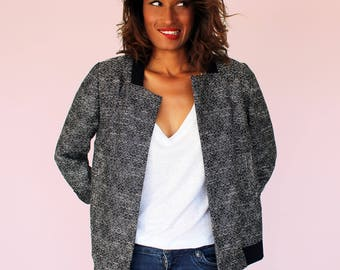 Bea tweed jacket