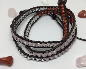 Cancer Wrap Crystal Bracelet