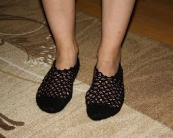 Copper Sensation, handmade, exclusive designer, foot warmer, indoor socks