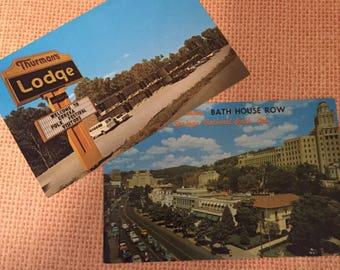 Two Original vintage postcards for crafting