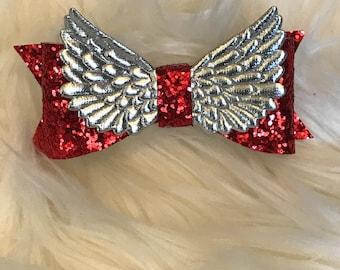 Christmas Angel Bow