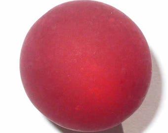 2 beads 20mm red siam polaris