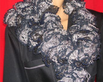 """Scarf long collection """"Can - Can"""""""