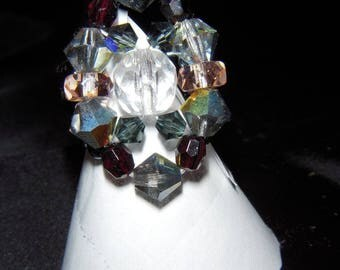 Bague3 swarovski crystal