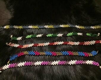Native American Indian beaded bracelets