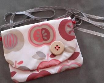 Bag shoulder fancy cotton coated
