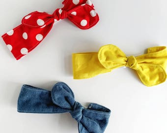Rosie the Riveter headband, rosie the riveter, girls headband set, rosie the riveter baby, girls headband, newborn headband, infant headband