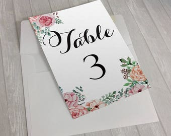 table reservation card template - reservation cards etsy