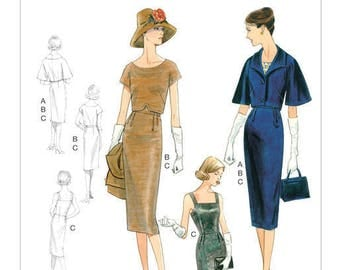 By Vogue V9082 retro vintage sewing pattern
