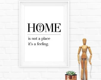 Home Decor,New Home Gift,Housewarming Gift,home print,printable home,bedroom art print