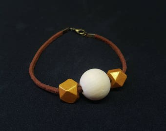 MOLLY gold Bohemian bracelet