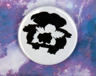 Venusaur, Ivysaur, and Bulbasaur Pin/Button, Magnet, or Keychain