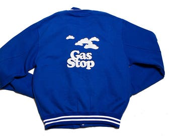New 'Gas Stop' Letterman Jacket by J. Rill Apparel
