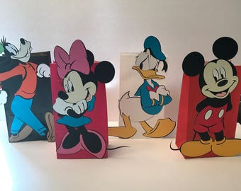 Mickey and Friends Gift Bag Set of 12