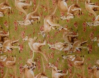 Fabric Australian Kangaroo