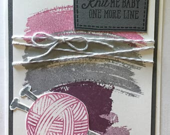 Knitting All Occasion Card