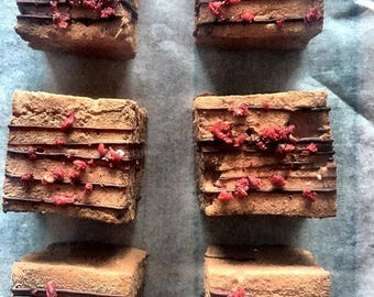 Chocolate raspberry marshmallows
