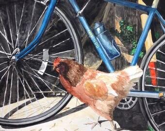 Barbara the hen