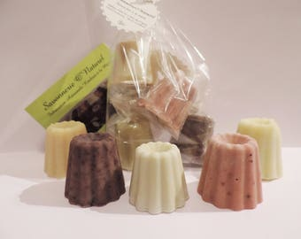 Soaps in mini fluted for a better choice.
