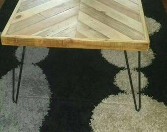 Coffee table metal legs