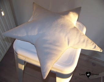 Star grey cushion