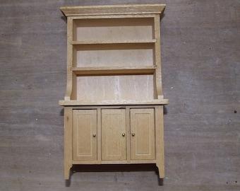 Dresser wooden raw 9.5 cm x 15cm depth 4.4 cm